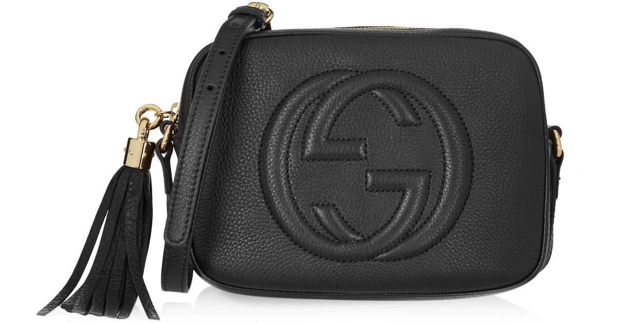 Lyst - Petit sac porté épaule Soho Gucci en coloris Noir 2626440c109