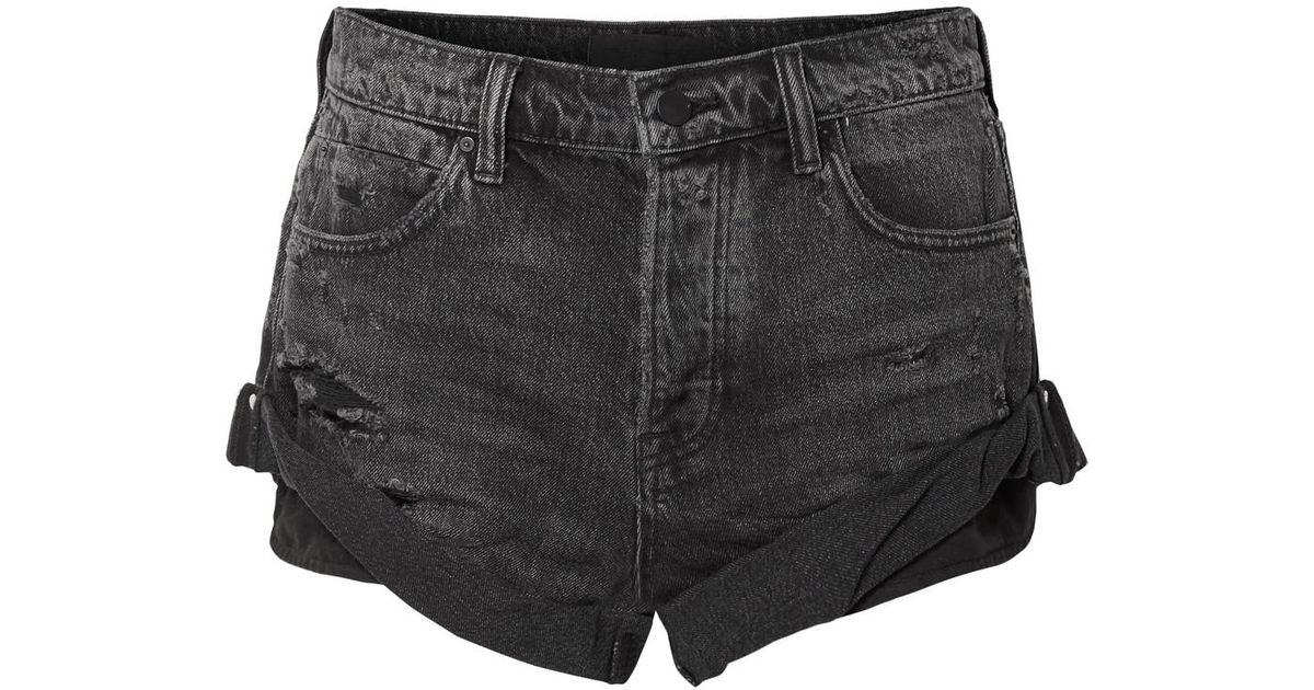 Hike Denim Shorts - Dark gray Alexander Wang llF5T
