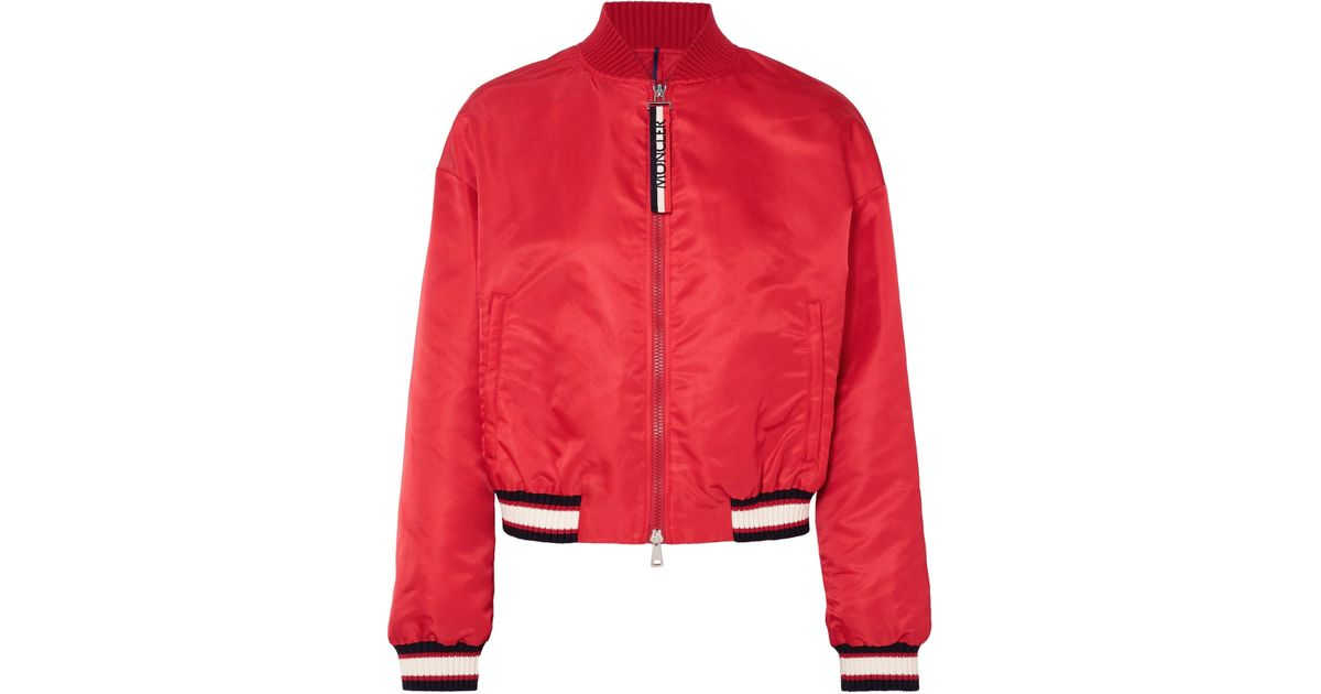 moncler Bomber Jackets RED