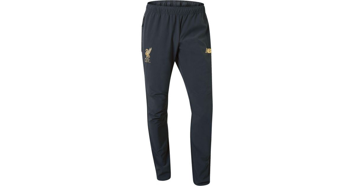 da4a435a58d6f New Balance New Balance Liverpool Fc Managers Woven Pant in Blue for Men -  Lyst