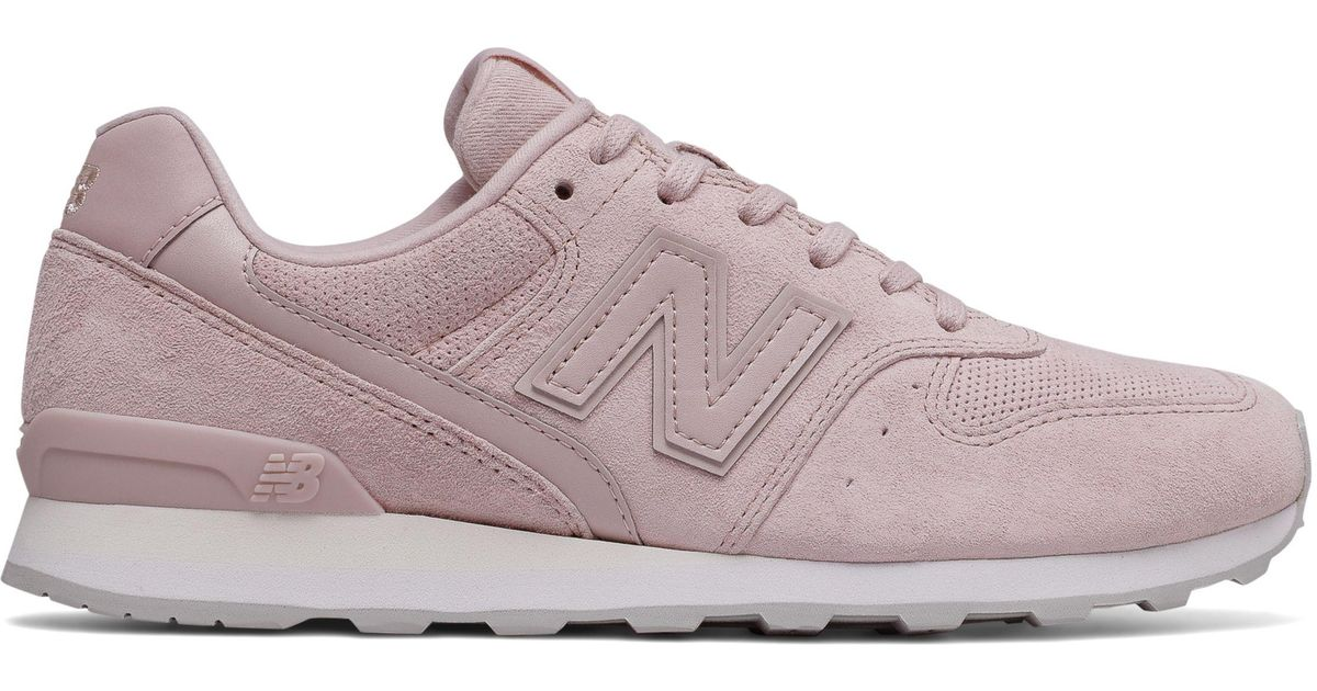 new balance 696 beige pink