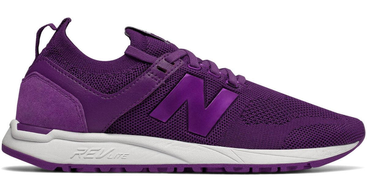 new product 65d1b 30bcd New Balance 247 Engineered Mesh in Purple - Lyst
