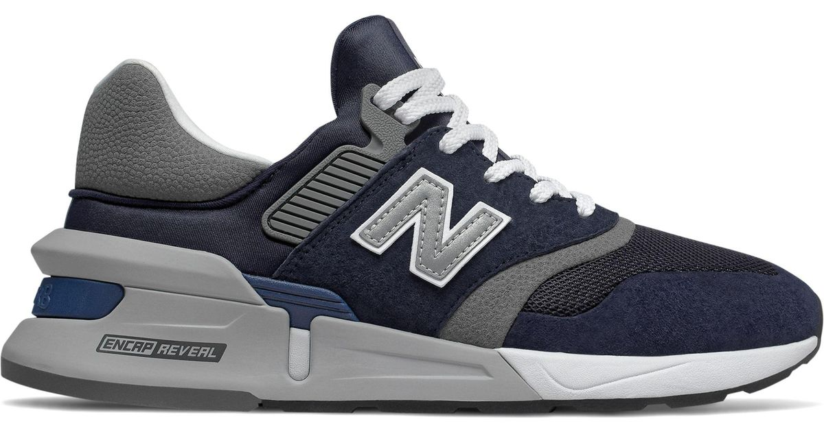 check out 9e363 d414d New Balance 997 Sport in Blue for Men - Lyst