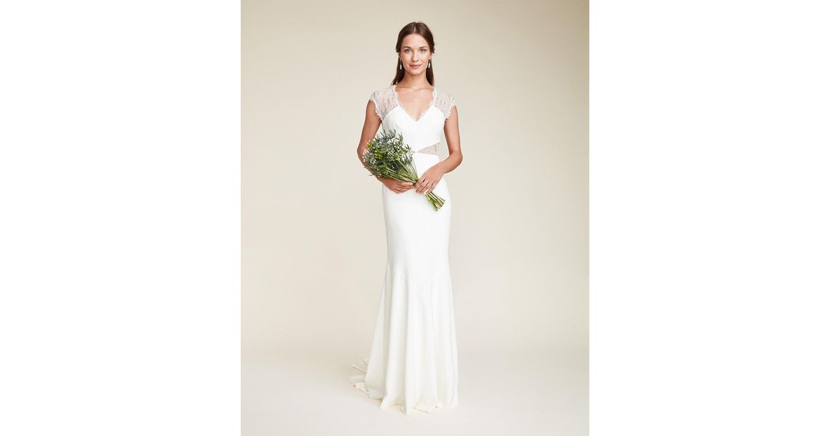 Lyst - Nicole Miller Kendall Bridal Gown in White