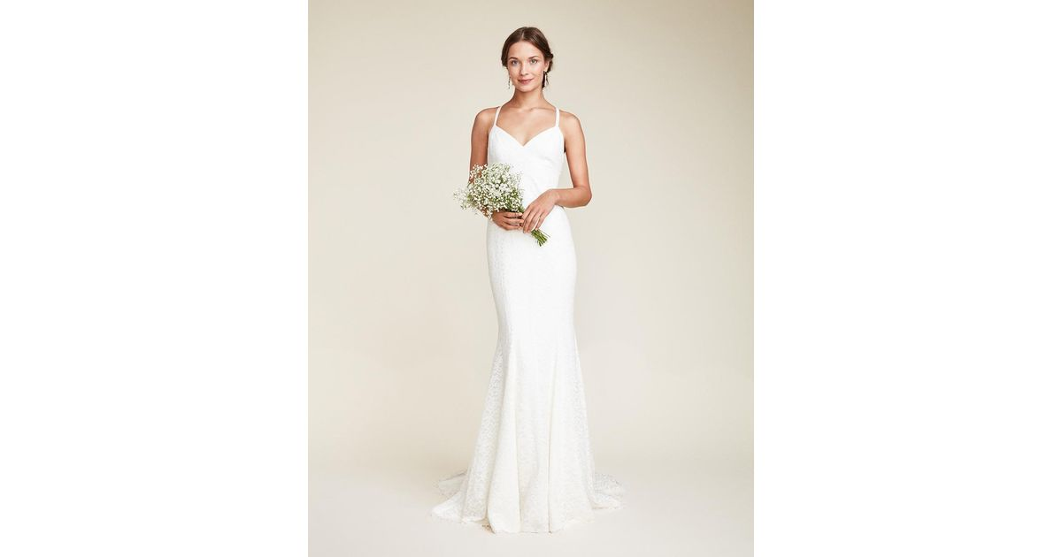 Nicole Miller Violet Bridal Gown In White