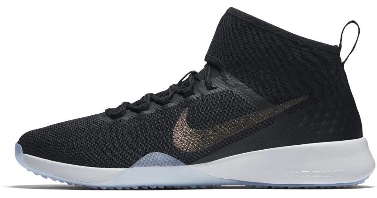 2 Women's Zoom Lyst Air Strong Black Metallic Nike Training Shoe In aOqSnn