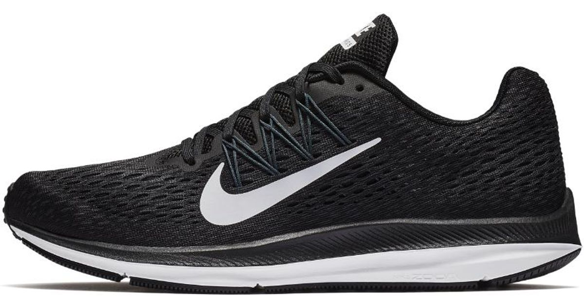 Lyst - Nike Air Zoom Winflo 5 Men s Running Shoe in Black for Men - Save 23% da821af0b