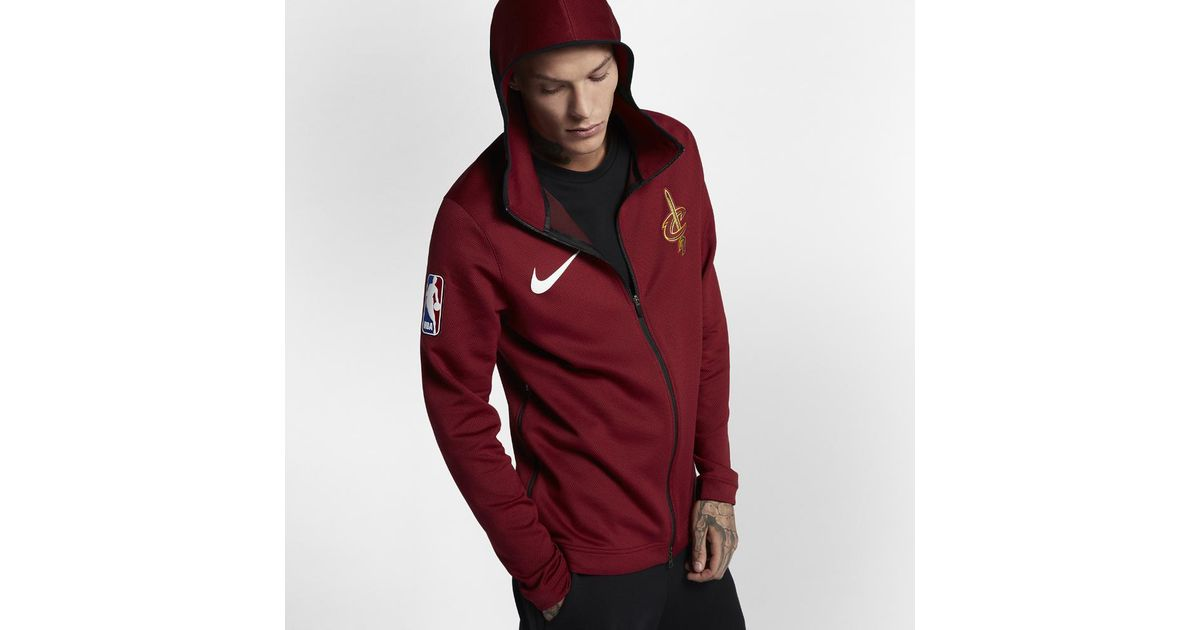 9c78948b413 Nike Cleveland Cavaliers Therma Flex Showtime Men's Nba Hoodie in Red for  Men - Lyst