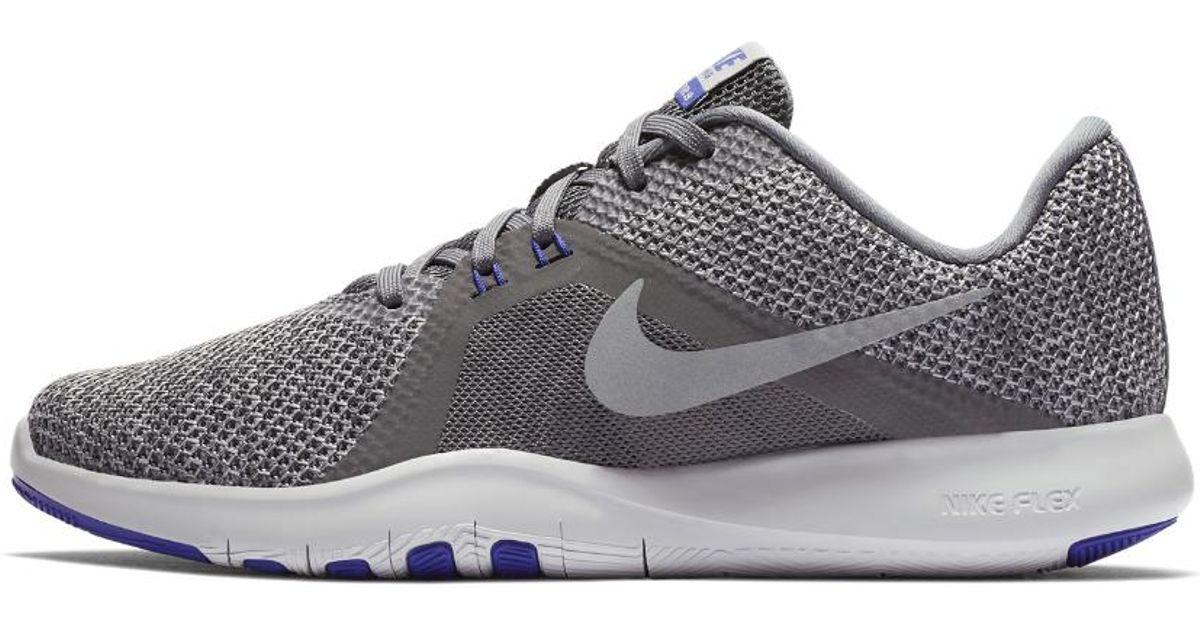 4a15c17269e32 Lyst - Nike Flex Tr8 Women s Training Shoe in Gray