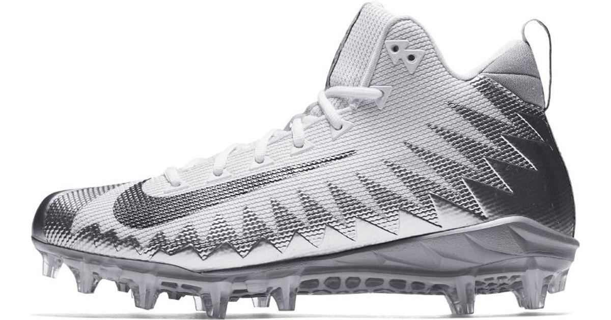 60c4199cc46c Nike Alpha Menace Pro Mid Men's Football Cleat in Metallic for Men - Lyst