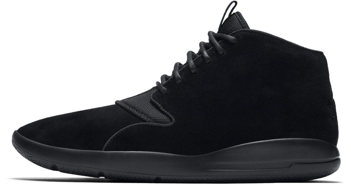 059ace00ed8 Nike Jordan Eclipse Chukka Shoe in Black for Men - Lyst