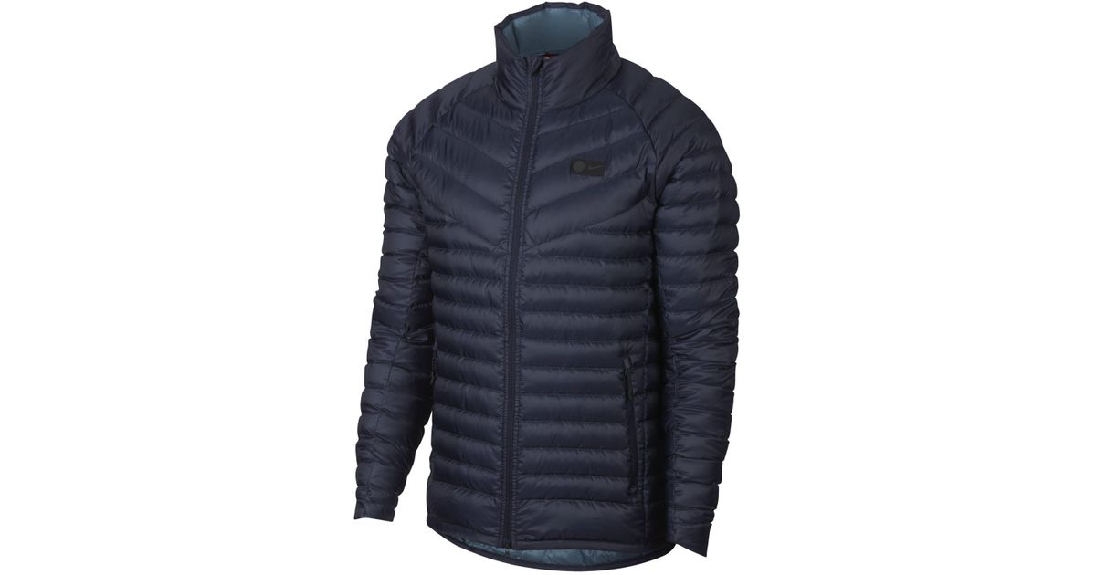 9dcfaeb580c5 Nike Chelsea Fc Down-fill Jacket in Blue for Men - Lyst
