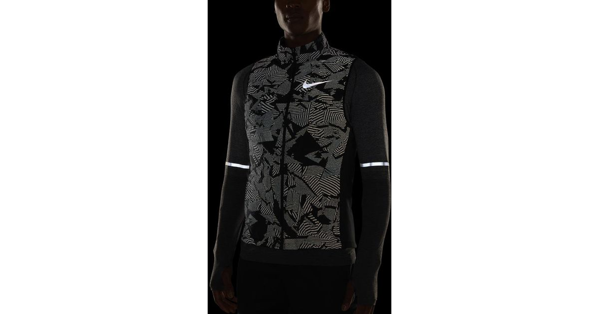 brand new b7187 2922a Nike Essential Flash Men s Running Vest in Black for Men - Lyst