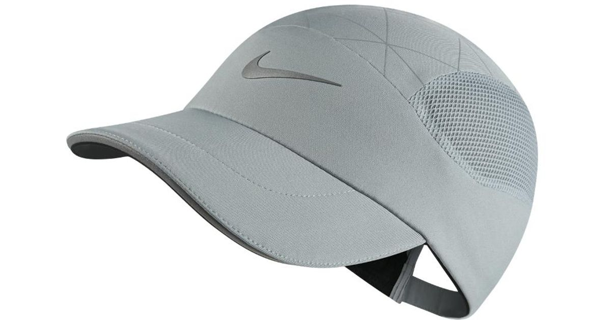 9248c023a1c ... promo code for lyst nike aerobill tailwind adjustable running hat grey  in gray for men 7e60c