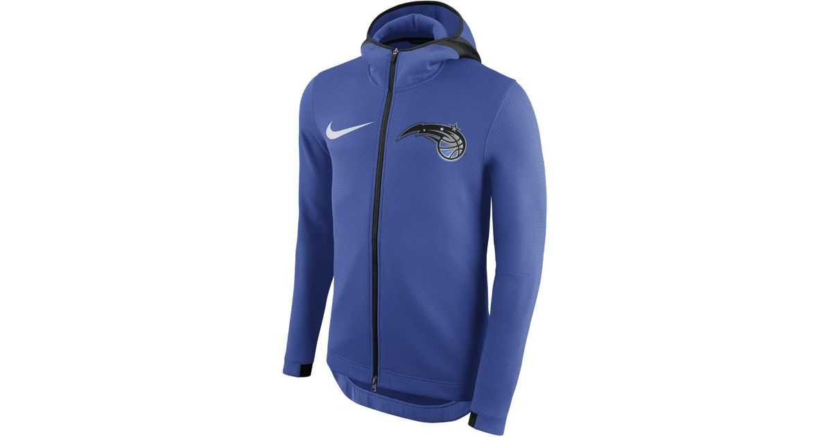 45a6dcc2f38 Lyst - Nike Orlando Magic Therma Flex Showtime Men s Nba Hoodie in Blue for  Men