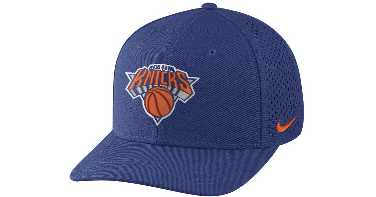 f912f7e98e2b Lyst - Nike New York Knicks Aerobill Classic99 Adjustable Nba Hat (blue) -  Clearance Sale in Blue for Men