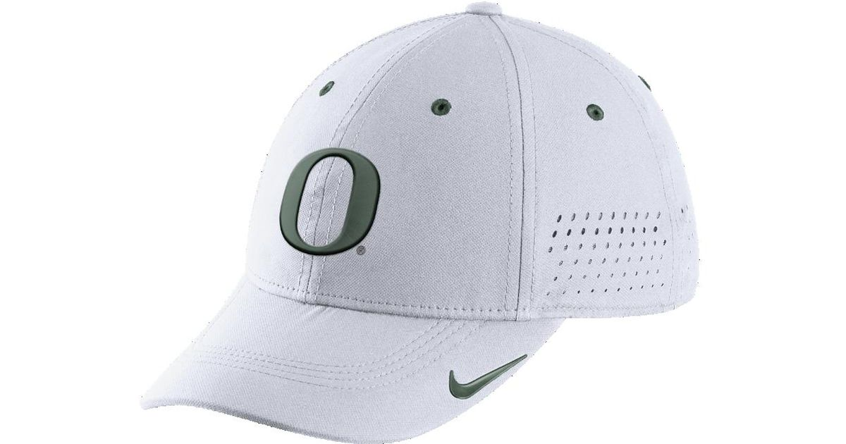da4ad065fc8 Lyst - Nike College Sideline Swoosh Flex (oregon) Fitted Hat in Blue for Men