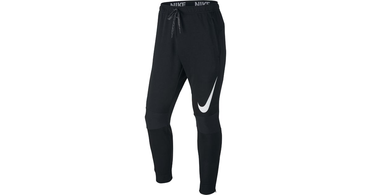 f6ab2ade8af6 Lyst - Nike Dri-fit Cuffed Men s Training Pants in Black for Men