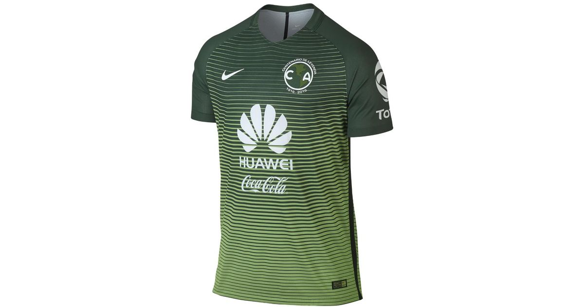 19e67249306d Lyst - Nike 2016 17 Club America Match Third Men s Soccer Jersey in Green  for Men