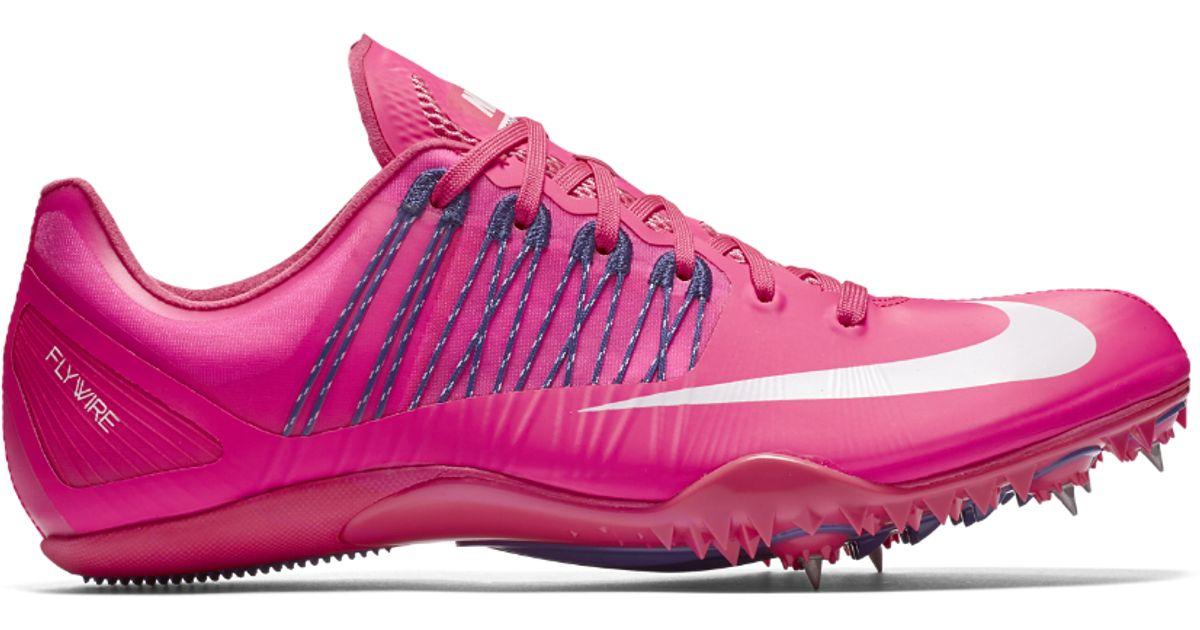 0947042cafc9 Lyst - Nike Zoom Celar 5 Sprint Spike in Pink for Men