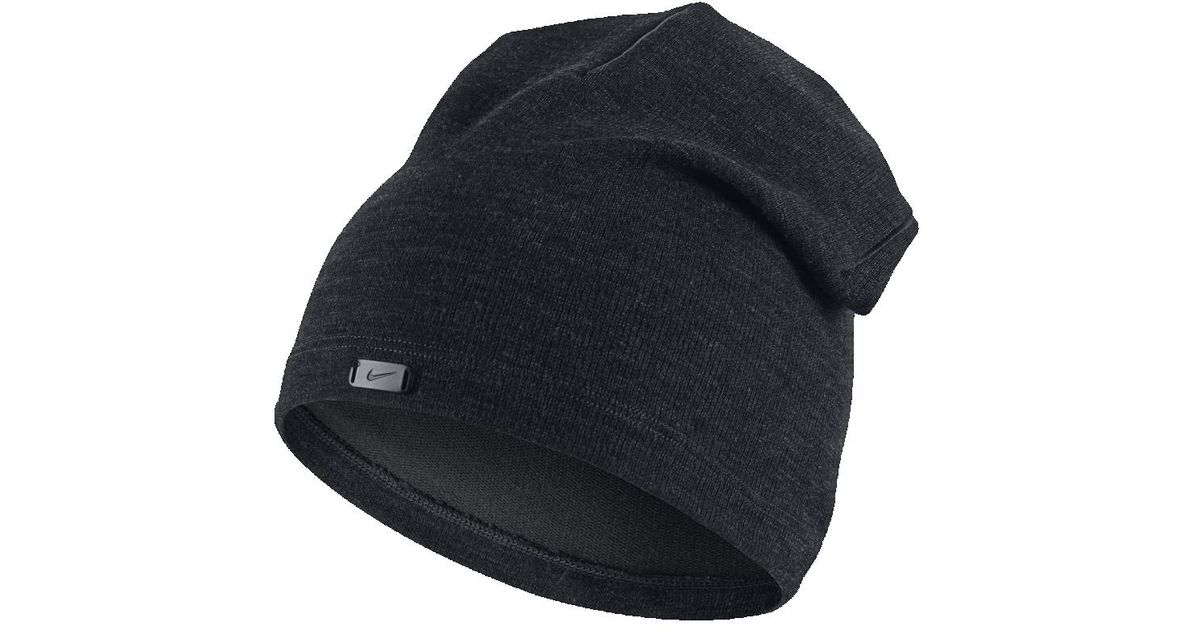 Lyst - Nike Golf Wool Knit Hat (black) in Black for Men bd8072c1df8