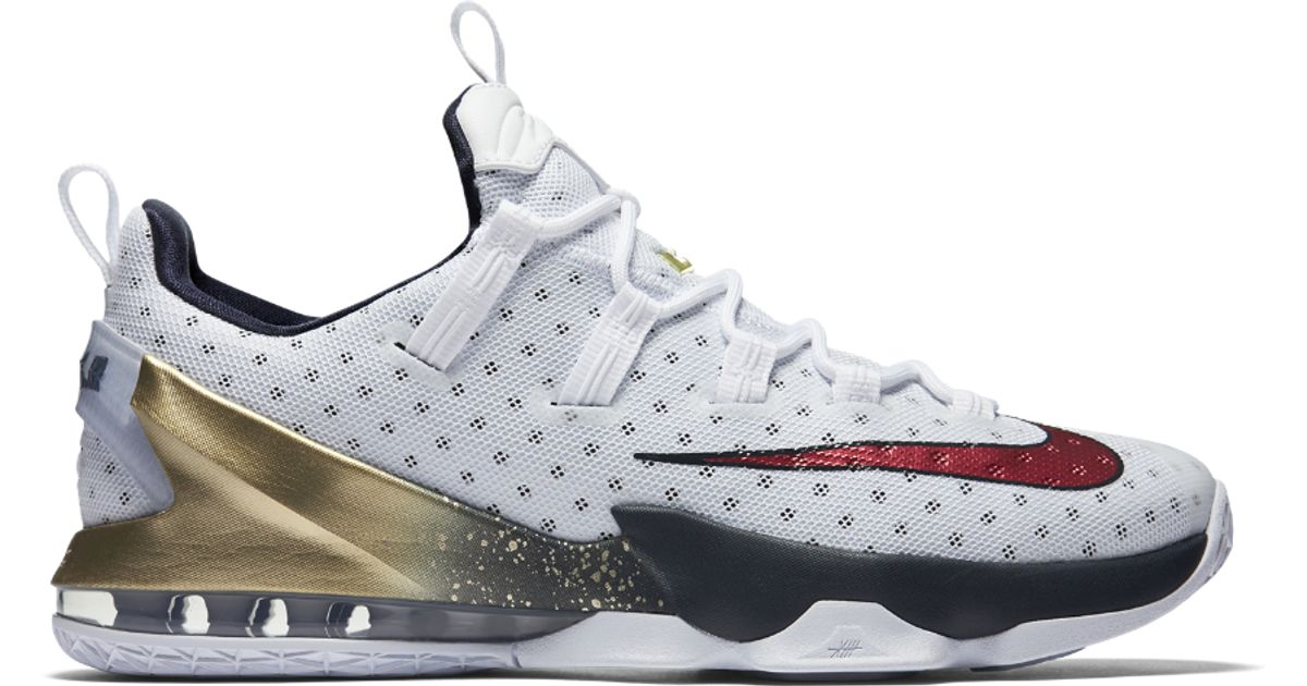 fce079661 Lyst - Nike Lebron Xiii Low Men s Basketball Shoe in Metallic for Men