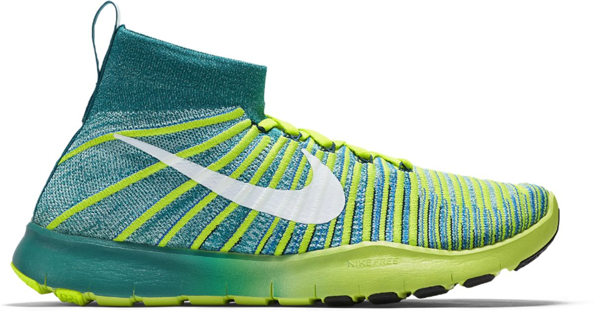 designer fashion 05615 e5828 Lyst - Nike Free Train Force Flyknit Mens Training Shoe for