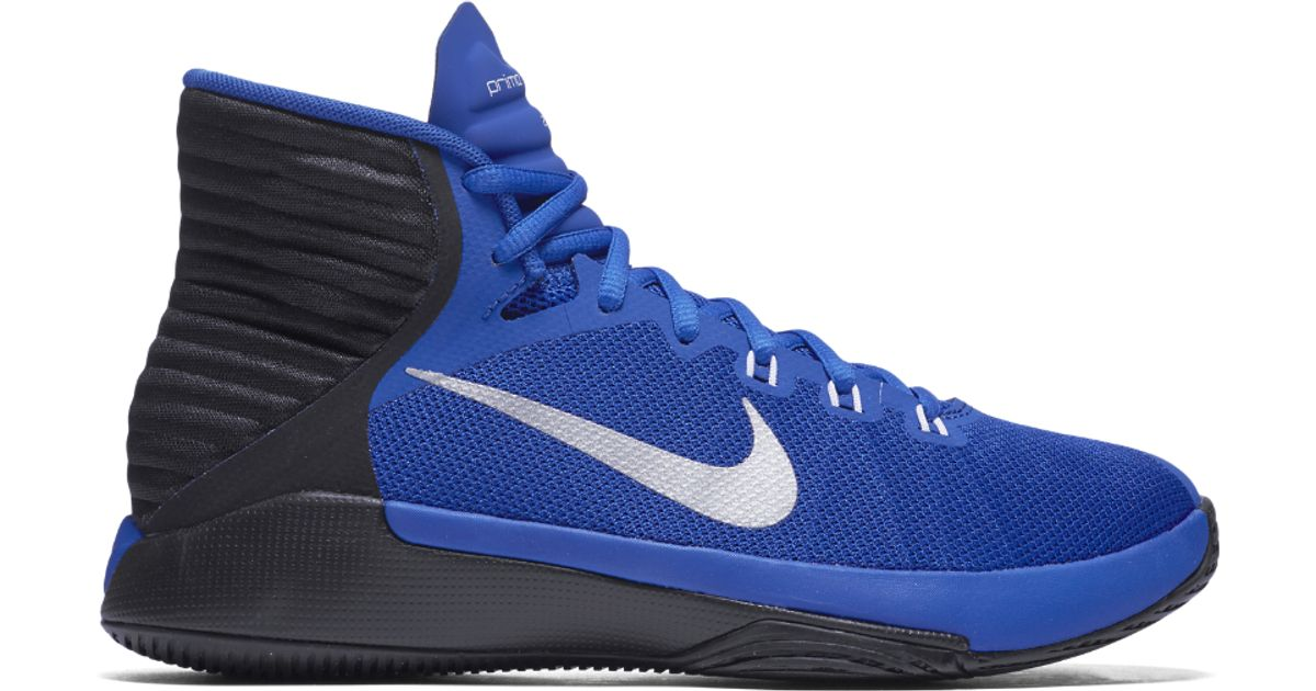 8c1cccb92970 discount code for lyst nike prime hype df 2016 womens basketball shoe in  blue 9a8e4 1b573