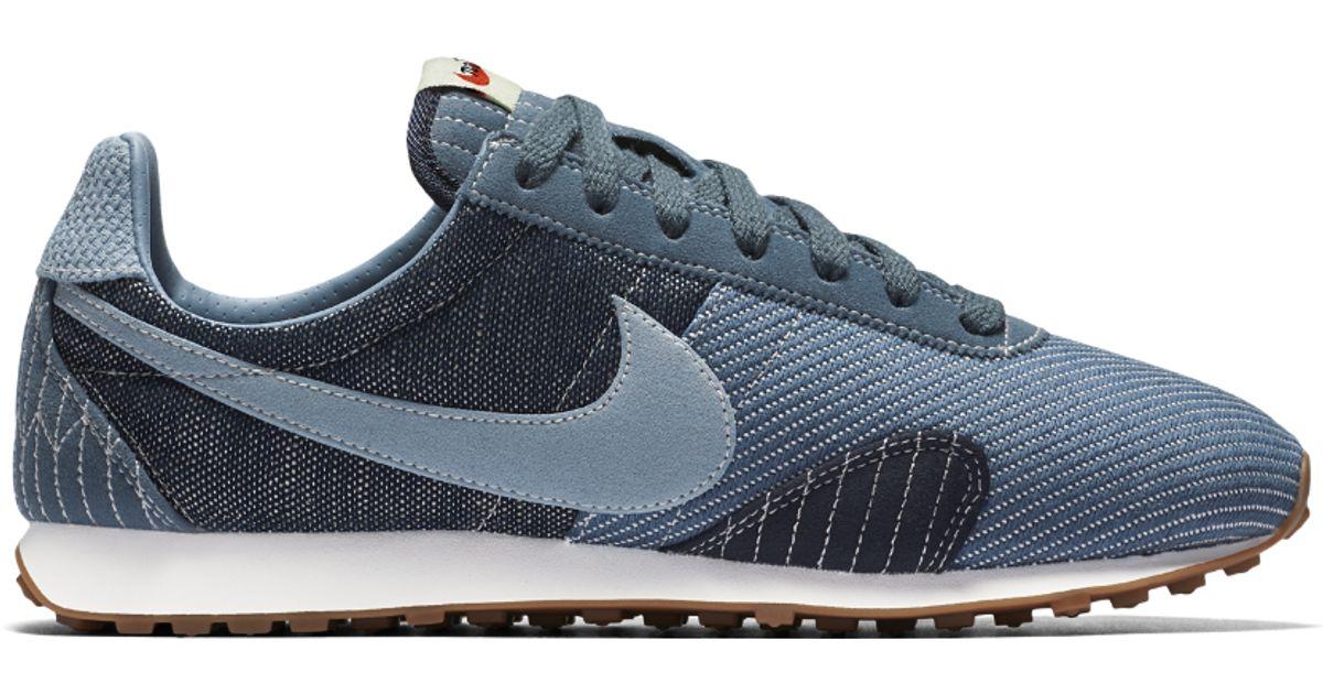 2c34d62bcf611d Lyst - Nike Pre Montreal Racer Vintage Premium Women s Shoe in Blue