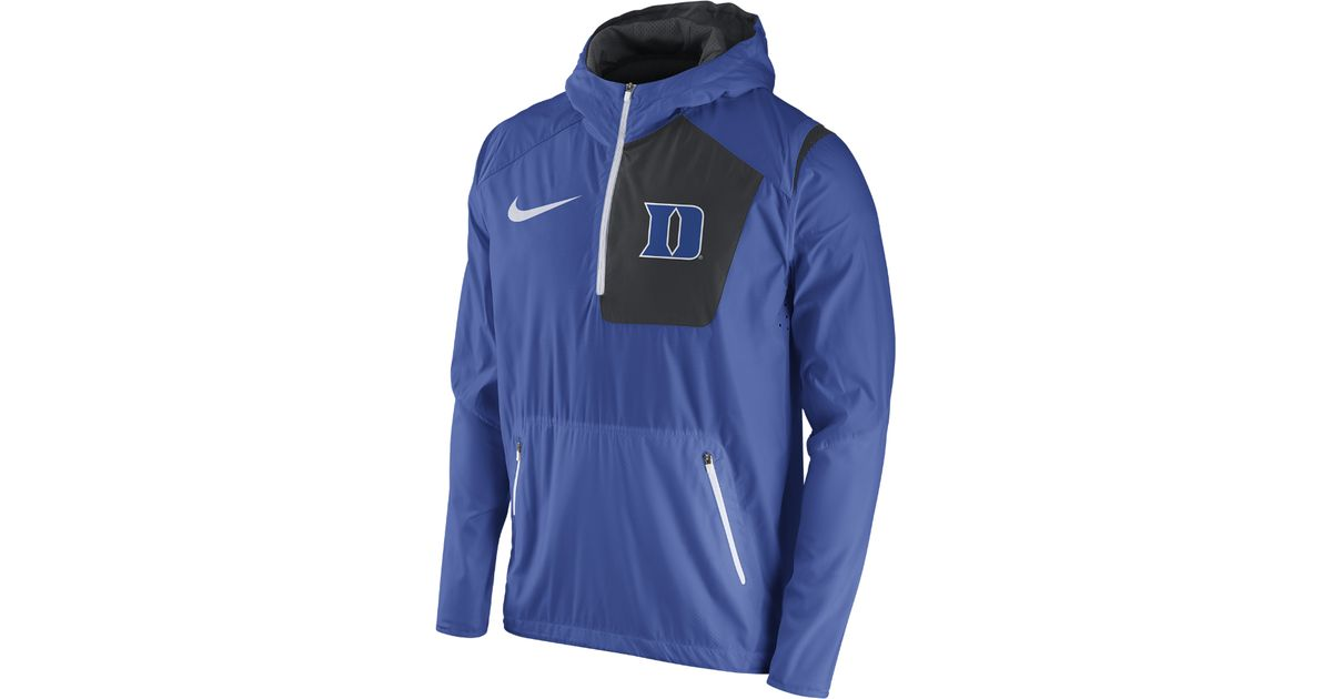 outlet store ae8f1 b23d3 Lyst - Nike College Vapor Fly Rush (duke) Men s Football Jacket in Blue for  Men