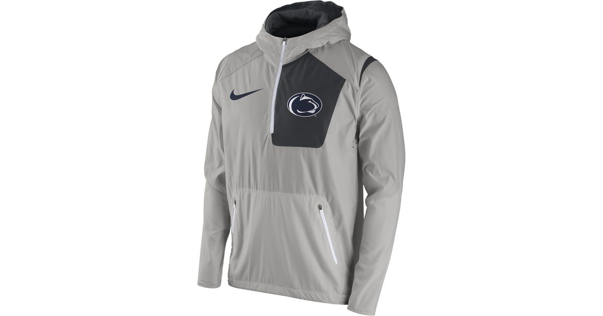 eb83037f27d1 Lyst - Nike College Vapor Fly Rush (penn State) Men s Football Jacket in  Gray for Men