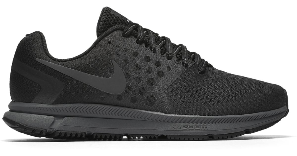 8c15168946d Lyst - Nike Air Zoom Span Shield Men s Running Shoe in Black for Men