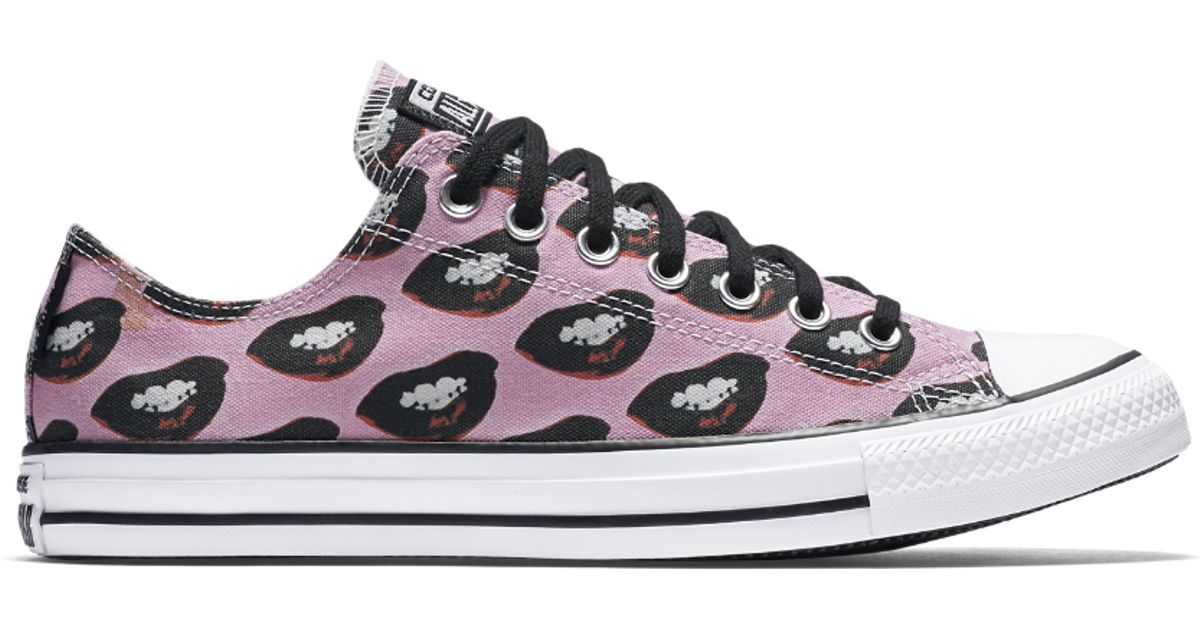 c153e193d5975e Lyst - Converse Chuck Taylor All Star Andy Warhol Marilyn Monroe Low Top  Shoe