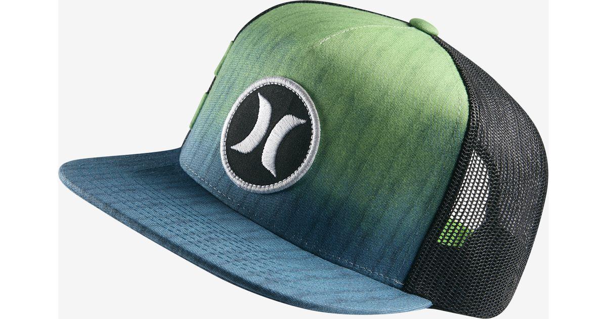 Nike Hurley Block Party Hyper Flow in Green for Men - Lyst 24ff788b882