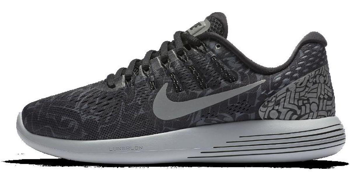 02600676642d Lyst - Nike Lunarglide 8 (rostarr) Women s Running Shoe in Black