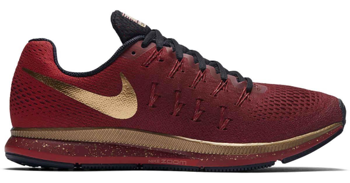 newest c652a 16352 Nike Air Zoom Pegasus 33 Le (michael Johnson) Men s Running Shoe in Red for  Men - Lyst