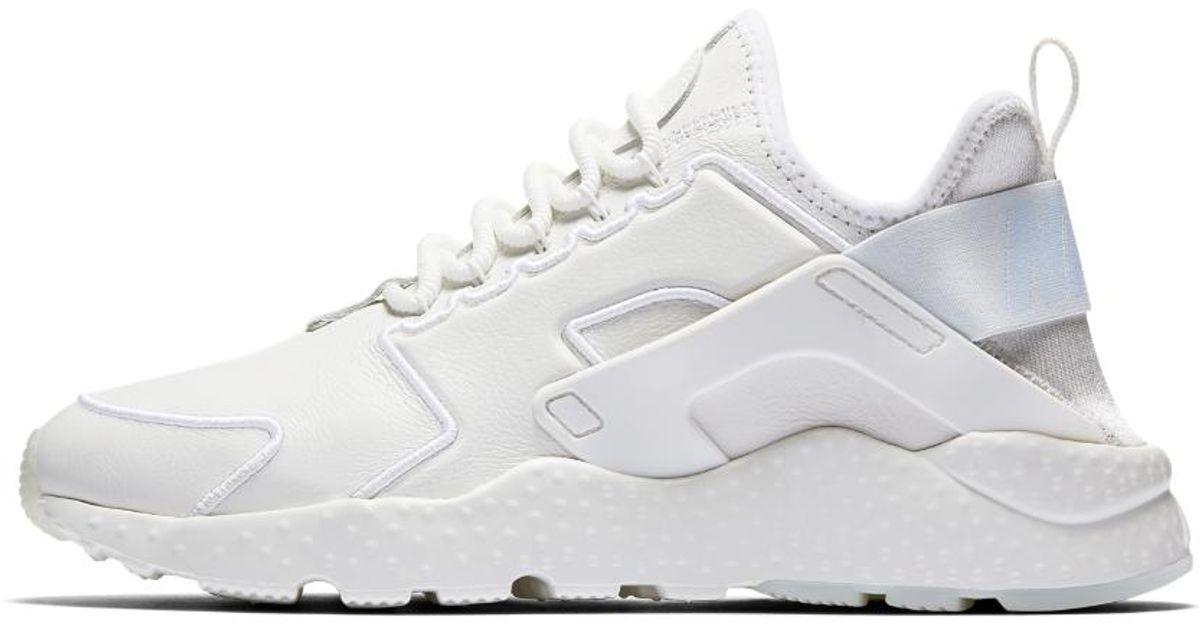 6c28d36a46d71 ... order lyst nike air huarache ultra si womens shoe in white f36d4 14567