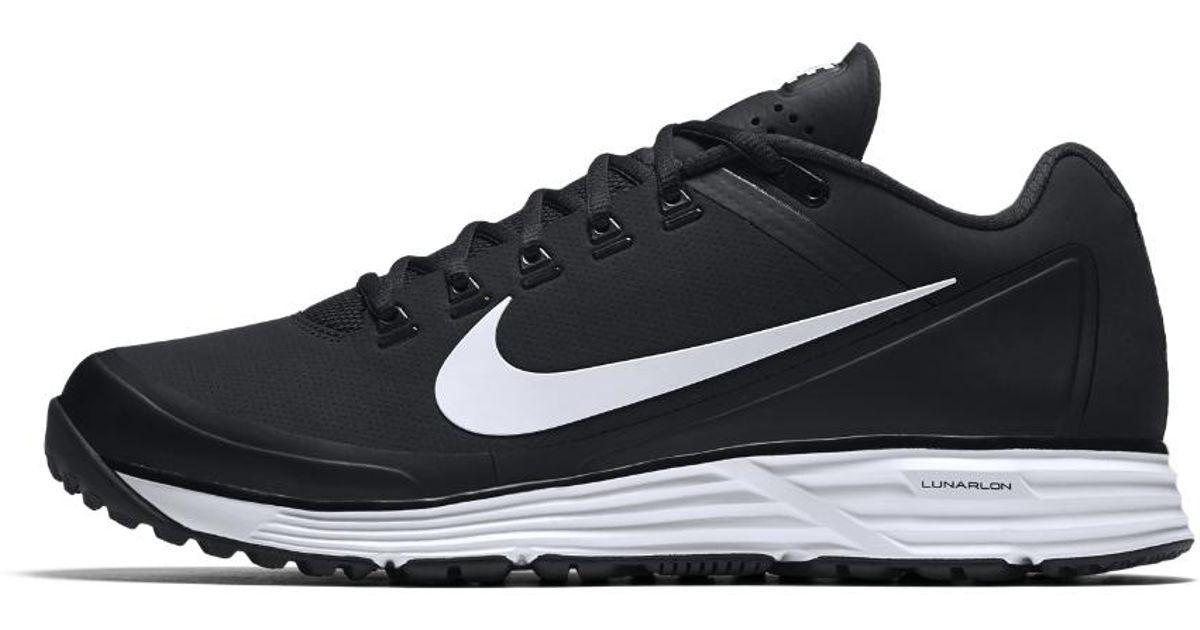 Nike Lunar Clipper 17 Turf Men S Baseball Shoe In Black