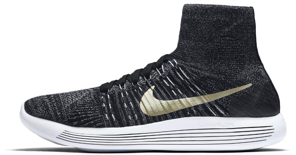26b11859ee206 Lyst - Nike Lunarepic Flyknit Bhm Men s Running Shoe in Black for Men