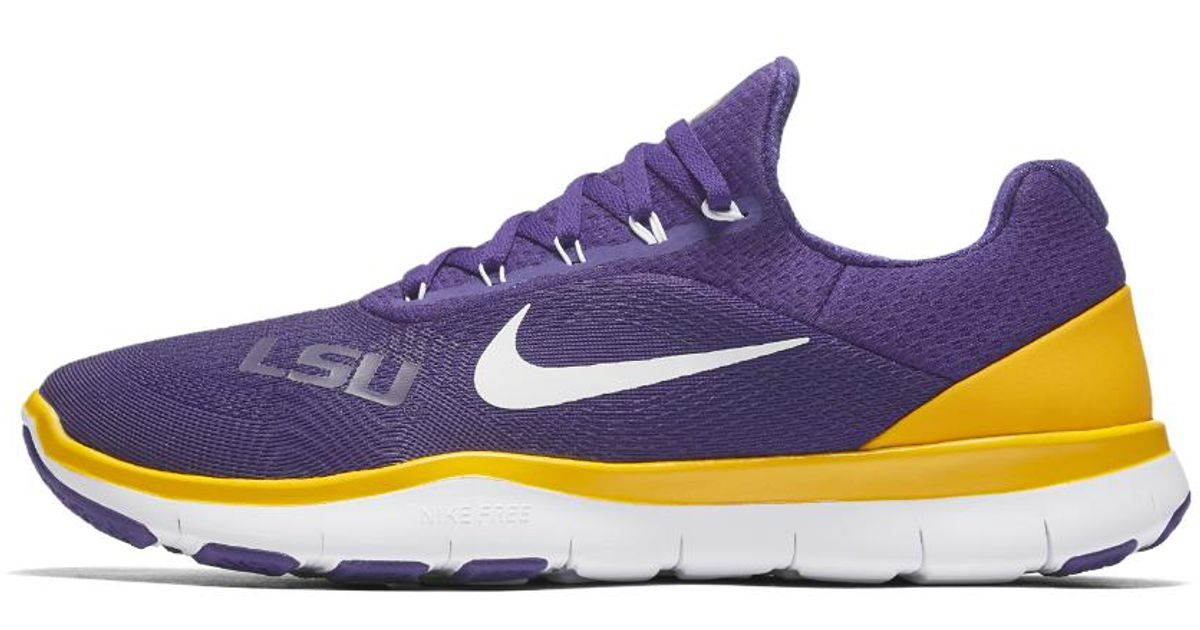 2ced8b6a6fabe Lyst - Nike Free Trainer V7 (lsu) Men s Training Shoe in Purple for Men
