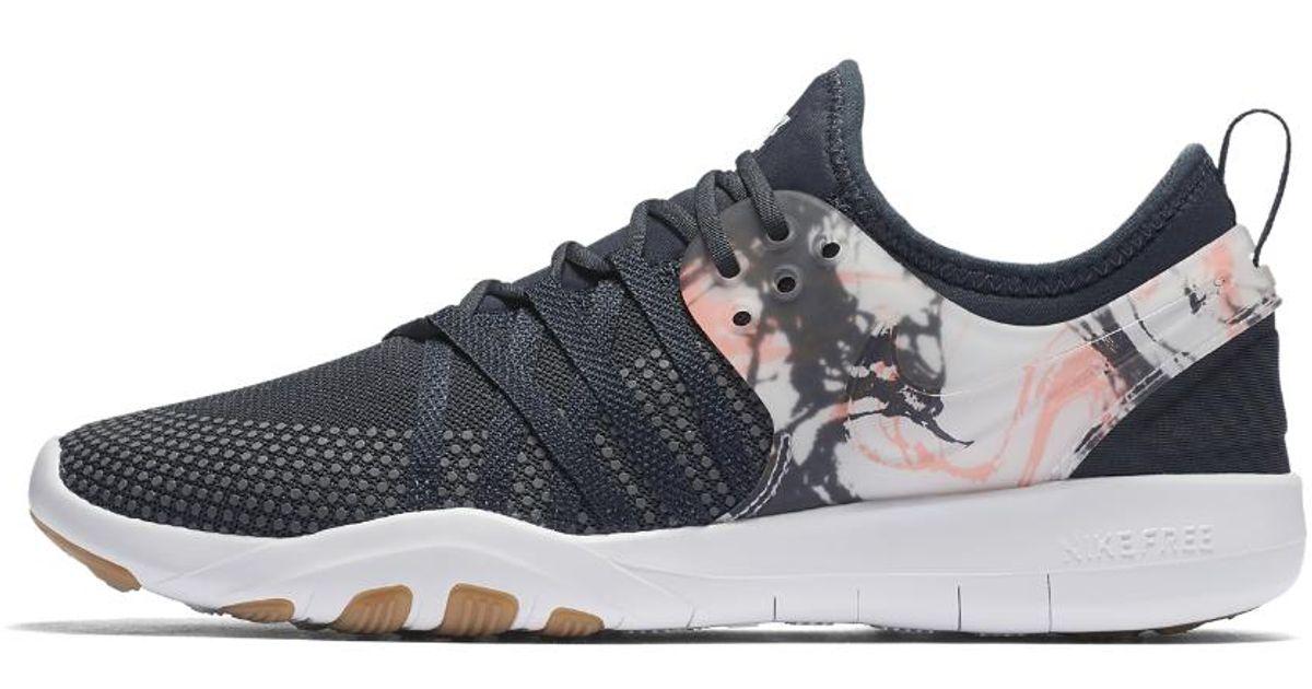 5f02dcfeea7e Lyst - Nike Free Tr7 Women s Training Shoe in White