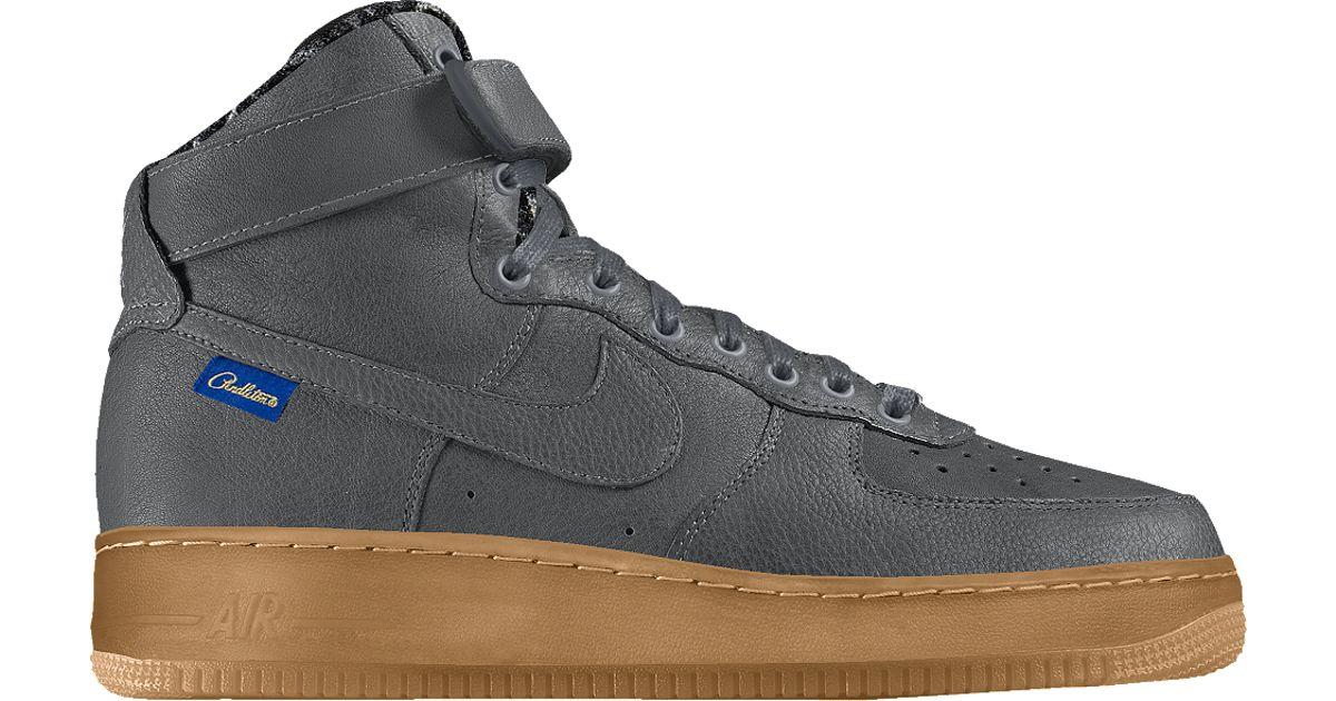 sale retailer ce88d 32a72 Lyst - Nike Air Force 1 High Premium Pendleton Id Men's Shoe in Gray for Men