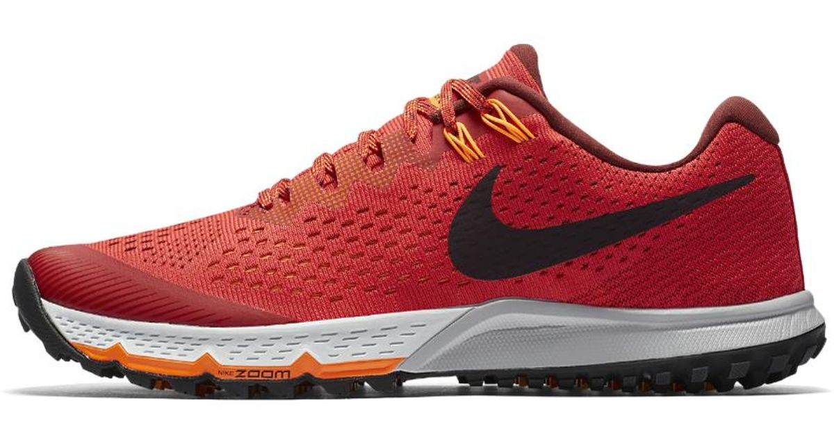 ef6438a011ab Lyst - Nike Air Zoom Terra Kiger 4 Men s Running Shoe in Red for Men