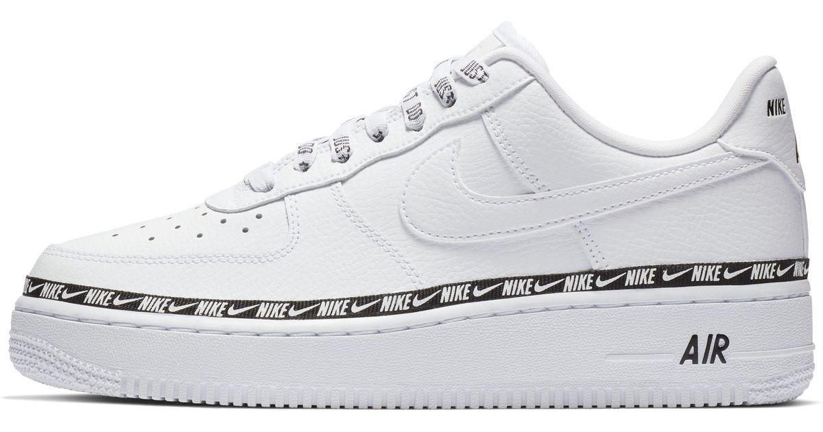 fe8de2775fd Nike Air Force 1  07 Se Premium Shoe in White - Lyst