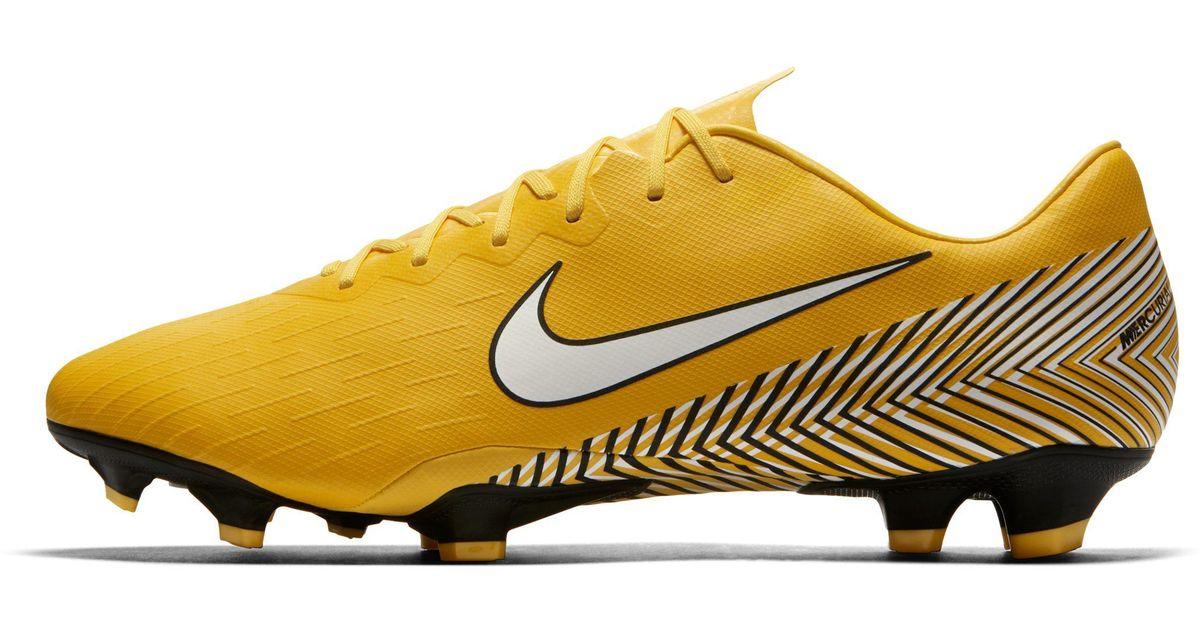 804646e51 Nike Mercurial Vapor Xii Pro Neymar Jr. Firm-ground Football Boot in Yellow  for Men - Lyst