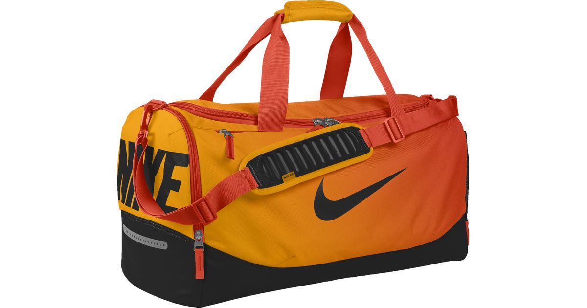 Lyst - Nike Team Training Max Air Id Duffel Bag (medium) (orange) in Orange  for Men 44ae854a8b879