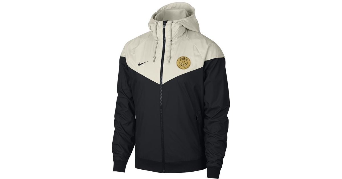 420192dfd71a Lyst - Nike Paris Saint-germain Windrunner Men s Jacket in Black for Men