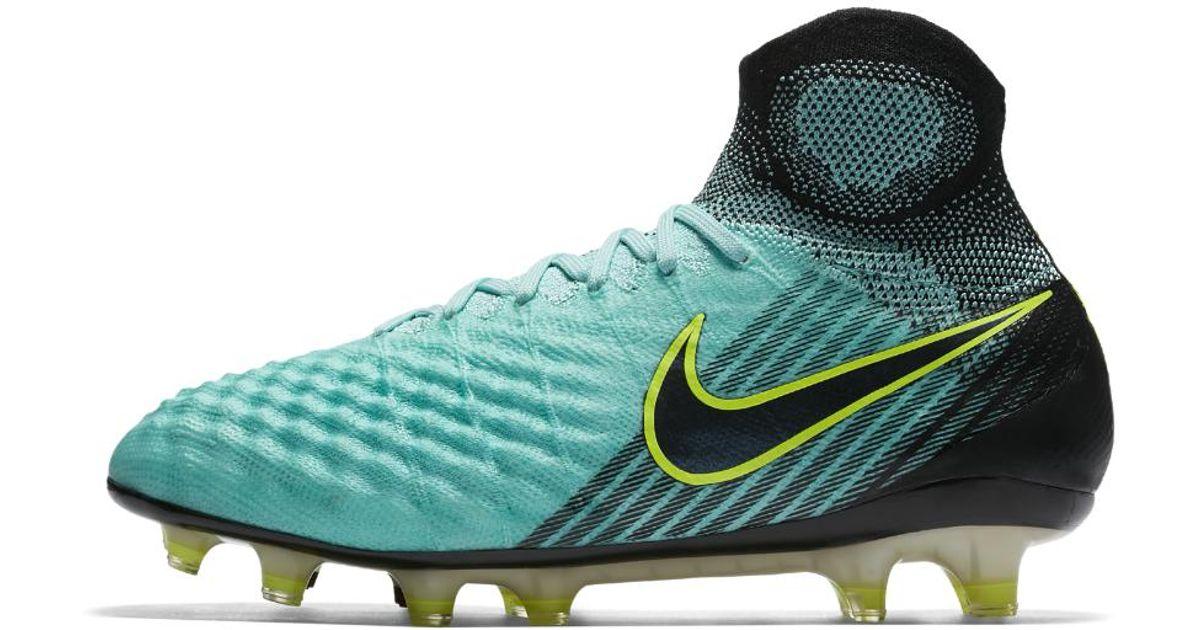 Lyst - Nike Magista Obra Ii Women s Firm-ground Soccer Cleats in Green for  Men 88fd1da70