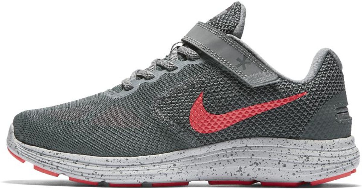 13c3742bbc1d Lyst - Nike Revolution 3 Flyease (wide) Women s Running Shoe in Gray