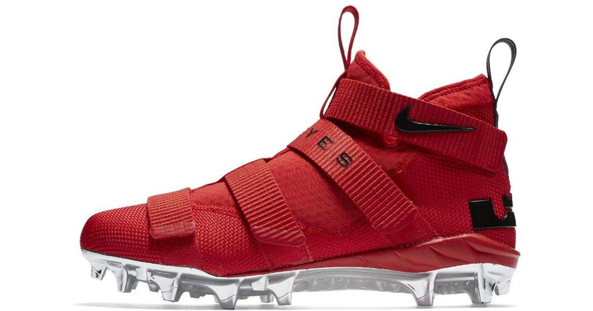 56539ee2a2b7 Lyst - Nike Lebron Soldier 11 College (ohio State) Mens Football ...